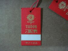 VINTAGE TUDOR by R0LEX ROSE PAPER TAG for Submariner 7928 7016 & Chronograph etc