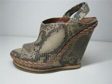 Women's Leather Animal Print Platforms & Wedge Heels