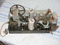 RFT SUPER 4E 67 Röhrenradio Chassis für Bastler