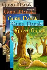 More details for guru nanak dev ji the first sikh guru sikh comic book sikhism volume 1 to 5