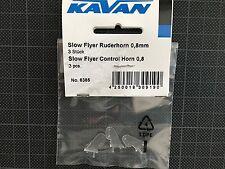 +++ Kavan SlowFlyer Ruderhorn 0.8 mm 3 Stk.  6385