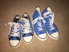 Converse 2 X Blue Trainers & Hi-tops Size UK 13 *S2