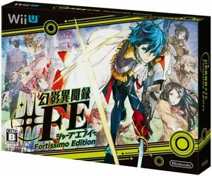Video Game Fortissimo Edition Nintendo Wii U Tokyo Mirage Sessions #FE Japan