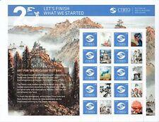 UN 2016 - 20th Anniversary of CTBTO Personalised Stamp Sheet - UMM/MNH