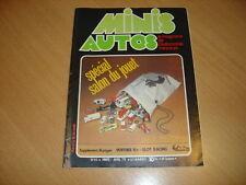 Minis Autos N°40 Spécial salon de la miniature