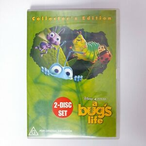 A Bugs Life Movie DVD Region 4 PAL Free Postage - Comedy Kids