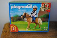 Boite Playmobil NEUVE thème cheval, équitation ref : 5109 jamais ouverte