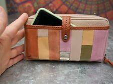 Smartphone crossbody/purse/wristlet LEATHER 'thesak.com'