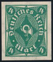 DR 1922, MiNr. 226 a U, tadellos postfrisch, Mi. 100,-