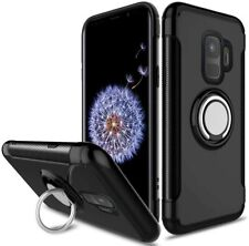 Galaxy S9 Case Shockproof Magnetic Ring Holder Rotating Armor Cover for Samsung