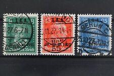Deutsches Reich, MiNr. 407-409, gestempelt, BPP Signatur - 628447