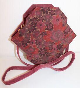 80er 80s Vintage true VTG LEDER Tasche Schultertasche Leather BOX BAG WILDLEDER