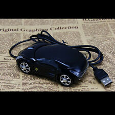 Hotsale 3D USB Wired Mouse Mice Car Shape for PC Laptop Notebook Computer Black