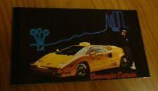 1989 Lamborghini Countach Cab Photo Magnet Toolboxfridge Picture 89 Fits Lamborghini Jalpa