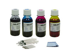 Refill ink for HP 62XL ENVY 5540 5542 5544 5545 5640 5642 5643 5660 5665 4x100ml
