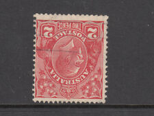 KGV 2d Red Inverted CofA Watermark Fine Used