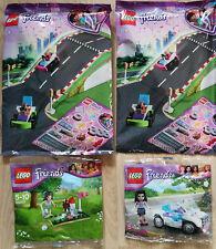 LEGO® Friends 30103 (Emma's Cabrio) & 30203 (Minigolf Polybag) & 2x 5005238 Neu