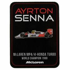 Ayrton Senna McLaren Pin Badge Mens Fanatics