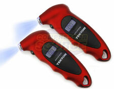 2 Tekton 5941 Digital Tire Pressure Gauge Lighted Display Ready Easy Use Meter
