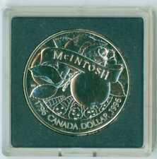 1996 CANADA UNCIRCULATED SILVER DOLLAR .925 FINE SILVER LOW MINTAGE McIntosh