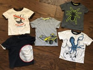 Details about  /NWT Boy/'s Gymboree gray short sleeve shirt ~ 4 5 6 8 FREE SHIPPING!