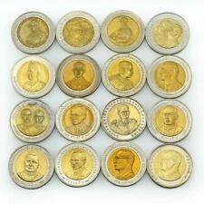 Thailand 10 baht set of 63 coins