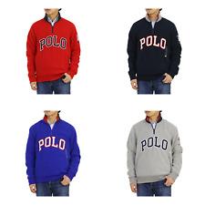 Polo Ralph Lauren 1/2 Zip Fleece Pullover Jackets Sweater w/ POLO -- 4 colors --