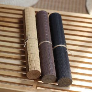 Tea Flag Bamboo Mat Placemat Table Runner Coaster Coffee Shop Tea Ceremony Decor