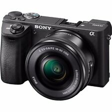 Sony Alpha a6500 Mirrorless Digital Camera Body With 16-50 Lens