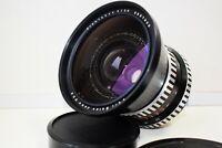 RARE ZEBRA CARL ZEISS JENA FLEKTOGON 4/50 mm Wide Angle Pentacon SIX mount EXC