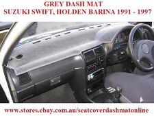 DASH MAT,DASHMAT, DASHBOARD COVER FIT  TO SUIT  SUZUKI SWIFT 1991-1997,  GREY