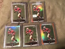 CARLOS HYDE 2014 TOPPS CHROME ROOKIE #158 GOLD REFRACTOR Rainbow Lot Gold /50!