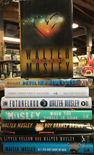 Lot Of 8 Walter Mosley Hardcovers
