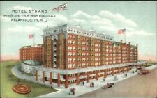 Atlantic City Nj Hotel Strand Penna Ave c1910 Postcard