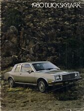 Buick Skylark 1980 USA Market Sales Brochure Limited Sport Sedan Coupe