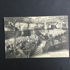 10- CPA TROYES Intérieur Des Magasins Réunis Grand Magasin Aube Antique Postcard