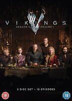 Vikings - Season 4 Part 1 [DVD] *NEU* Series 4 Teil 1 Staffel Vier 10 Episoden