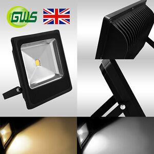 Preminum Slimline Outdoor IP65 Waterproof LED Floodlight Garden Security Light