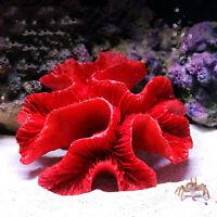 Künstliche Koralle Rot Korallenriff Aquarium Ornament Harz Fish Tank Landschaft