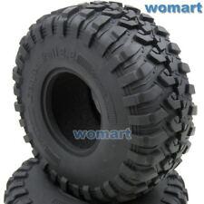 2Stk RC 2.2 Crawler Reifen Mud Trail Tires Für RC4wd Axail RPM 2.2 Crawler Wheel