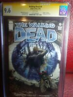 Walking Dead #9 CGC 9.6 Signed By Tony Moore
