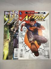 Action Comics 0 3  4 5 Superman New 52 DC Comics VF Grant Morrison Rags Morales