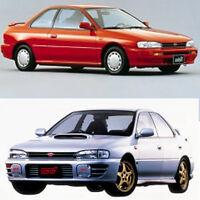 Subaru Impreza WRX 1992-2000 Workshop Service Repair Manual