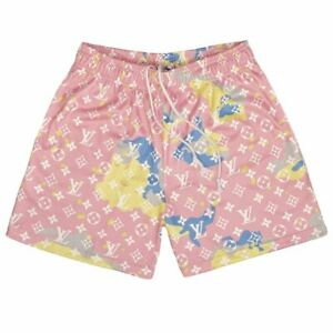 Bravest Studios CAMO SHORTS COTTON CANDY PINK 2021 LARGE