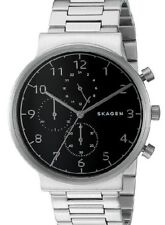 Skagen SKW6360 Ancher Black Dial Chronograph Watch 40mm
