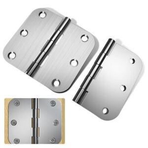 Door Hinges Stainless Steel Interior Hinges With  6 Screws Hardware Controls UK.