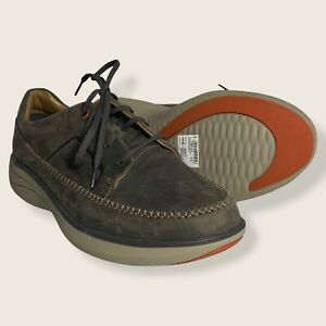 Men's Unstructured By Clarks Lace Up Leather Casual Shoes US SIZE 10