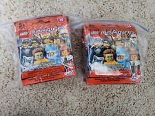 LEGO Series 15 71011 Collectible Minifigures Full Set 16 Retired Sealed Shark!