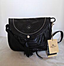 Patricia Nash - Beaumont Distressed Vintage Leather Crossbody / Shoulder Bag  -