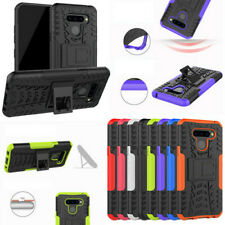 For Alcatel One Touch A3 Rugged Hybrid Armor Shockproof Hard Case Stand Cover